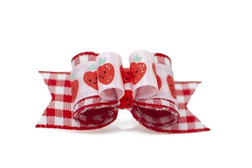 Strawberry Picnic ~ Plush Tie